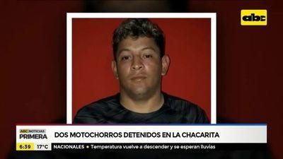 Dos motochorros detenidos en la Chacarita