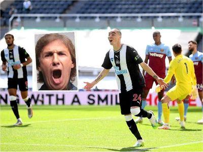 Así cantó el Bambino Pons el gol de Miguel Almirón