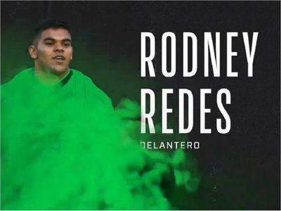 Rodney Redes, primer fichaje en la historia de su nuevo equipo