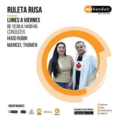 Ruleta Rusa con Hugo Rubin y Maricel Thomen