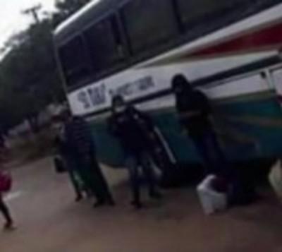 Paciente con covid-19 subió a bus con pasajeros sanos