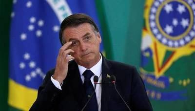 "Bolsonaro con síntomas de la ""gripezinha"""
