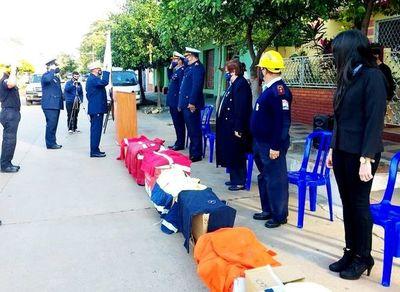 Festejan 21 años de cuerpo de bomberos