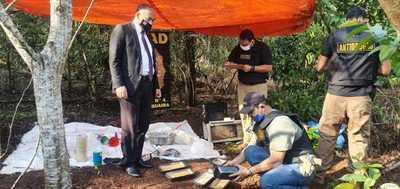 Desmienten que operativo de la SENAD haya sido en predio de la Itaipú
