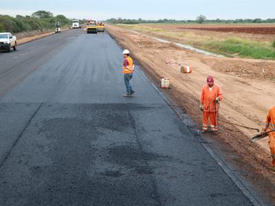 Corredor Bioceánico alcanzará los 104 km de carretera terminada en los próximos días
