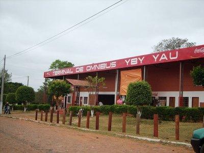 Sugieren cerrar la terminal de Ómnibus de Yby Yaú