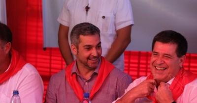 Vicepresidente destaca que Cartes es un actor muy importante para la unidad de la ANR