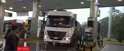 Delincuentes se alzan con G. 80 millones de una gasolinera