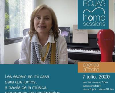 Berta Rojas realizará concierto virtual de forma gratuita