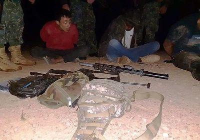 Decretan prisión para los tres brasileños detenidos con armas en Bella Vista Norte