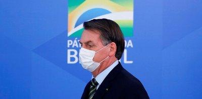 Bolsonaro confirmó que dio positivo a la prueba de Covid