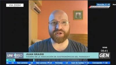 """HOY / Juan Grassi Galeano, empresario gastronómico: """"Estamos en una crisis muy fuerte y no vemos una reacción del Gobierno"""""""