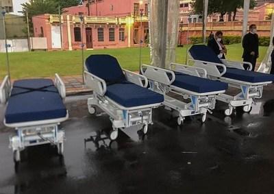 Cooperativas donan 120 camas hospitalarias para terapia intermedia