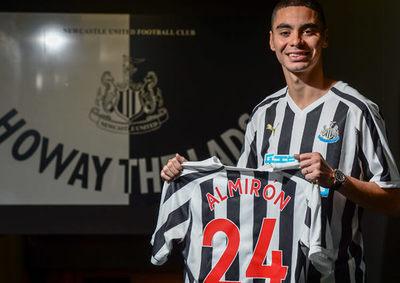 """DT del Newcastle asegura que Miguel Almirón """"es el sueño de cualquier entrenador"""""""