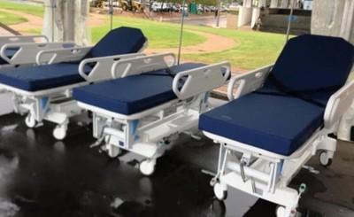 Salud recibe 120 camas para equipar hospitales