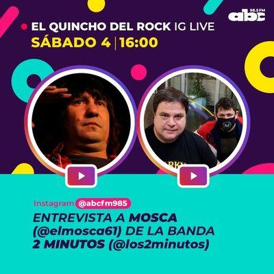 """Dosis de anécdotas con """"El mosca"""" en El Quincho del Rock"""