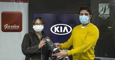 Kia Motors Corporation distingue una vez más al Grupo Garden