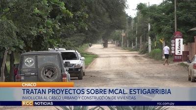 DIPUTADOS TRATAN TEMA SOBRE EL CASO URBANO DE LA MUNICIPALIDAD DE MARISCAL ESTIGARRIBIA