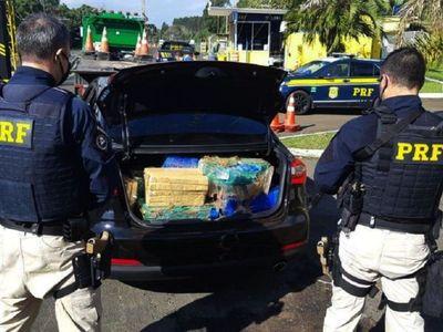 Se multiplican el narcotráfico y el contrabando de cigarrillos al Brasil