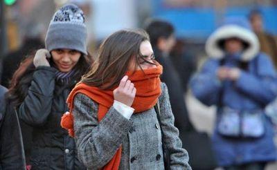 Meteorología anuncia una jornada fría y con vientos del sur