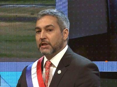 """""""En ningún otro Gobierno hubo tantos amigos del presidente imputados"""", la respuesta de Abdo a senadores"""