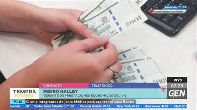 HOY / Pedro Halley, gerente de Prestaciones Económicas del IPS, sobre el pago de la tercera tanda de subsidios del IPS