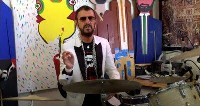 Así fue el show visual en vivo de Ringo Starr