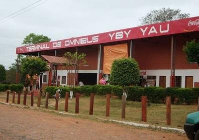 Terminal de Yby Yaú es cerrada luego de que funcionario diera positivo a COVID-19