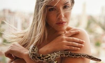 """Flo Benítez: """"las mascotas del futuro son los reptiles"""""""