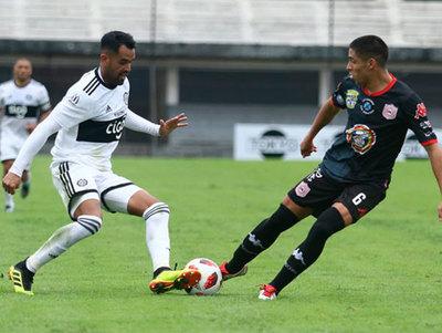 Los goles del amistoso entre Olimpia y San Lorenzo