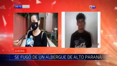 Reo con Covid-19 se fuga de albergue en Alto Paraná