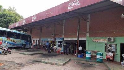 Terminal de ómnibus de Yby Yaú permanecerá cerrada durante 15 días tras un caso sin nexo de Covid-19