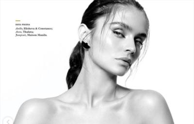 "HOY / La paraguaya Lourdes Motta, en la revista Maxim de México: ""Soy muy dura conmigo misma"""