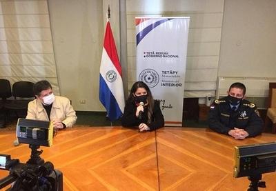 HOY / Conferencia de prensa respecto al caso de sicariato en Coronel Oviedo