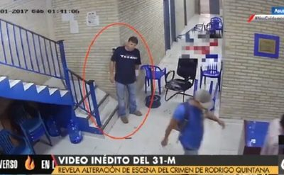 Video inédito no altera hipótesis del caso Quintana, afirma abogado