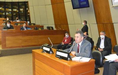 Titular de la ANDE compareció ante la Cámara de Diputados