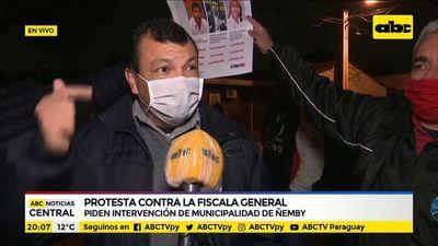 Ciudadanos de Ñemby piden intervención de municipalidad