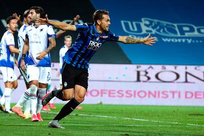Atalanta despacha a la Sampdoria y se mete de lleno en la pelea