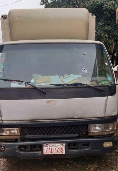 Delincuentes se alzan con recaudación tras asaltar un repartidor de lácteos
