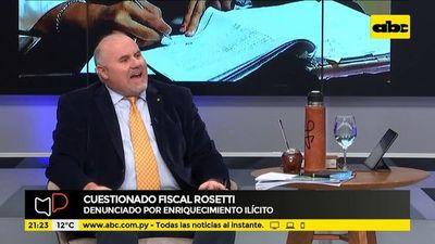 Cuestionado fiscal Rosetti, en la mira