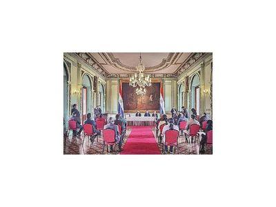 Mario Abdo evalúa bajo lupa rendimiento de sus  ministros