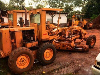 Comuna alquila  máquinas para trabajar en  barrios de CDE