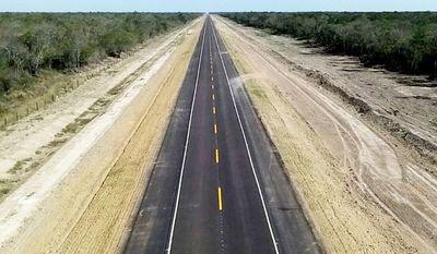 Faltan apenas 8 km para completar 100 km de asfaltado de la Bioceánica