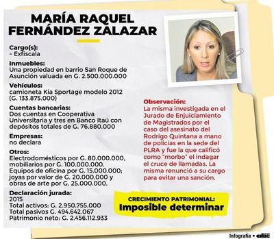 """Exfiscala con alta fortuna que  despierta el """"morbo"""""""