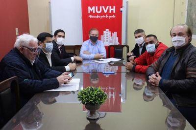 MUHV, Gobernación y Municipalidad construirán 300 viviendas populares en Pedro Juan