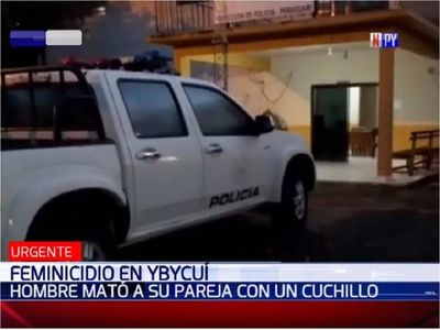 Una mujer es asesinada por su pareja de una puñalada en Ybycuí