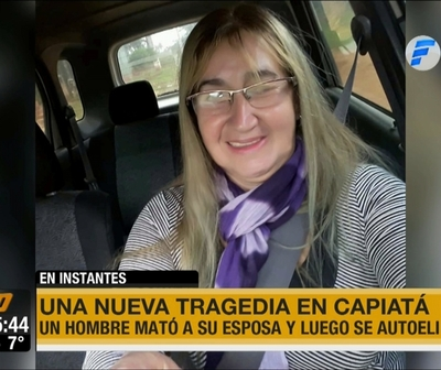 Otra tragedia en Capiatá: Asesinó a su esposa de varias puñaladas y luego se suicidó