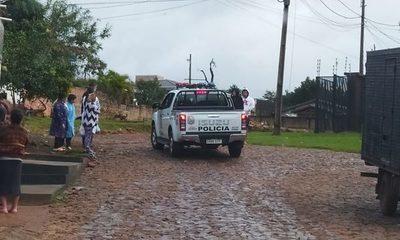 Delincuentes logran escapar de policías  tras una persecución en barrio Fátima – Diario TNPRESS