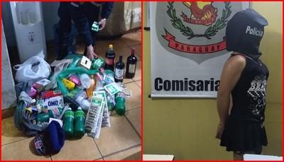 """Travestí es detenido cuando """"pelaba"""" un  comercio en centro de Ciudad del Este – Diario TNPRESS"""