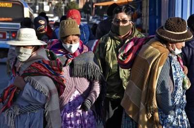 Bolivia vuelve a marcar un récord diario de contagios por la COVID-19